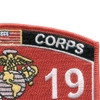 6019 Aircraft Maintenance Chief MOS Marine patch | Upper Right Quadrant