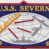 AO-61 USS Severn Cimarron Class Fleet Oiler Patch | Center Detail