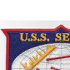 AO-61 USS Severn Cimarron Class Fleet Oiler Patch | Upper Left Quadrant