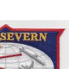 AO-61 USS Severn Cimarron Class Fleet Oiler Patch | Upper Right Quadrant