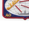 AO-61 USS Severn Cimarron Class Fleet Oiler Patch | Lower Left Quadrant