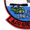 5th Squadron 158th Avaition Regiment A Company Patch | Lower Left Quadrant