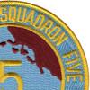 Amphibious Squadron Five Patch Phibron 5 | Upper Right Quadrant