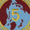 Amphibious Squadron Five Patch Phibron 5 | Center Detail