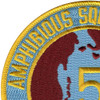 Amphibious Squadron Five Patch Phibron 5 | Upper Left Quadrant