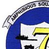 Amphibious Squadron Seven Patch | Upper Left Quadrant