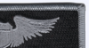 Air Force Pilot Wings Name Patch Silver And Black | Upper Right Quadrant