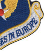 Air Force In Europe Command Patch   Lower Right Quadrant