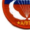 Airborne Jump School Sicily Patch   Lower Left Quadrant