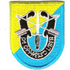 8th Special Forces Group Flash Patch With Crest