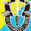 8th Special Forces Group Flash Patch With Crest | Center Detail