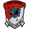 4th Of The 11th Aviation Cavalry Regiment Patch
