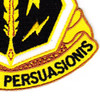 8th Psychological Operations Battalion Patch | Lower Right Quadrant