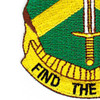 8th Military Police Group Patch | Lower Left Quadrant