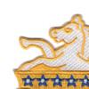 8th Cavalry Regiment Patch | Upper Left Quadrant