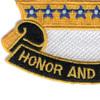 8th Cavalry Regiment Patch | Lower Left Quadrant