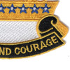 8th Cavalry Regiment Patch | Lower Right Quadrant