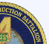 4th Naval Mobile Construction Battalion NMCB Patch