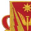 88th Airborne Anti-Aircraft Artillery Battalion Patch | Upper Left Quadrant