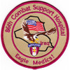 86th Airborne Combat Support Hospital Patch