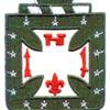 4th Infantry Regiment Patch Nol Me Tangere | Center Detail