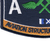 AM Aviation Structural Mechanic Naval Rating Patch | Lower Left Quadrant