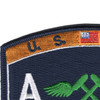 AM Aviation Structural Mechanic Naval Rating Patch | Upper Left Quadrant