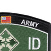 4th Infantry Division Patch - Iron Horse | Upper Right Quadrant