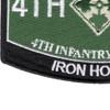 4th Infantry Division Patch - Iron Horse | Lower Left Quadrant