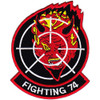 VF-74 Aviation Fighter Squadron Patch - Version A