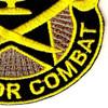 4th Cavalry Brigade Crest Patch | Lower Right Quadrant
