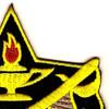 4th Cavalry Brigade Crest Patch | Upper Right Quadrant