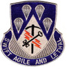 4th Brigade, 82nd Airborne Division Special Troops Battalion Patch STB-33