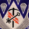 4th Brigade, 82nd Airborne Division Special Troops Battalion Patch STB-33   Center Detail