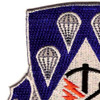 4th Brigade, 82nd Airborne Division Special Troops Battalion Patch STB-33   Upper Left Quadrant