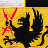 4th Brigade 4th Infantry Division Special Troops Battalion Patch STB-24 | Center Detail