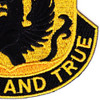 4th Brigade 4th Infantry Division Special Troops Battalion Patch STB-24 | Lower Right Quadrant