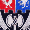 4th Brigade 3rd Infantry Division Special Troops Battalion Patch STB-23   Center Detail