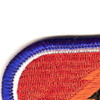 4th Brigade 25th Infantry Division STB Patch STB-26 Oval | Upper Left Quadrant