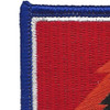 4th Brigade 25th Infantry Division Special Troop Battalion Patch STB-26 Flash   Upper Left Quadrant