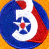 3rd Air Force Shoulder Patch | Center Detail
