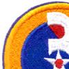 3rd Air Force Shoulder Patch   Upper Left Quadrant