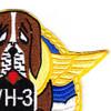 VH-3 PBM Mariner Flying Boat Rescue Squadron Patch | Upper Right Quadrant