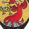 VFT-2 Patch Dragons   Center Detail