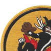 VF(AW)-4 Fighter All Weather Squadron Patch   Upper Left Quadrant