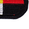 3rd Airborne Special Forces Group Patch Black Oval | Lower Right Quadrant