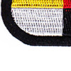 3rd Airborne Special Forces Group Patch Black Oval | Lower Left Quadrant