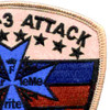3nd Battalion 3rd Aviation Attack Regiment C Company Patch Desert | Upper Right Quadrant