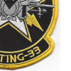 VFA-33 Patch Starfighters | Lower Right Quadrant