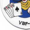 VBF-88 Patch Dead Mans Hand | Lower Left Quadrant